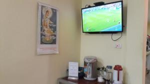 A television and/or entertainment center at Tony Central Hostel