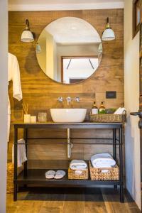 A bathroom at Hotel Desertica