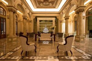 Uma área de estar em Sofitel Montevideo Casino Carrasco & Spa