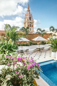 The swimming pool at or near Amarla Boutique Hotel Cartagena