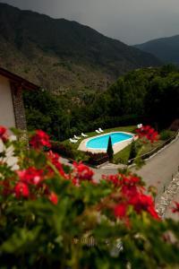 Vista de la piscina de Hotel La Morera o alrededores