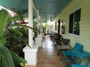A restaurant or other place to eat at Bocas Condos Rentals