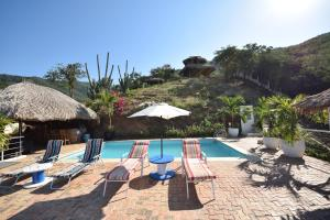 The swimming pool at or near Casa Relax - Adults Only