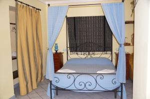 Letto o letti in una camera di Casa Matarazzo