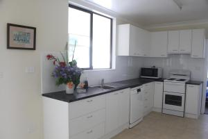 A kitchen or kitchenette at 1/63 Wallace Street