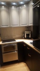 Kuchyň nebo kuchyňský kout v ubytování Hannover at Home - Beautiful apartment in Zooviertel