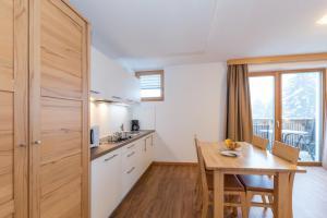 Küche/Küchenzeile in der Unterkunft Residence Aichner