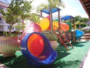 Children's play area at Pousada da Prainha