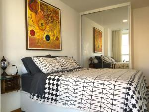 A bed or beds in a room at Expresso 2222