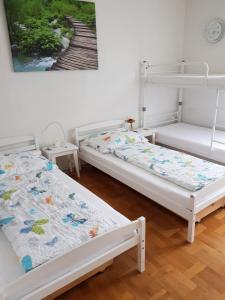 Ein Bett oder Betten in einem Zimmer der Unterkunft Apartment Classic Salzburg
