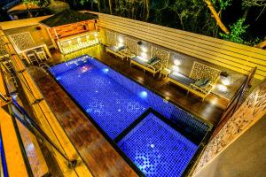 A view of the pool at FabHotel Casa Kiara Calangute or nearby