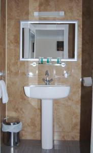 A bathroom at Villaggio