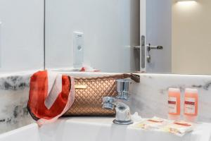 A bathroom at Hotel Praia Bonita Jangadeiros