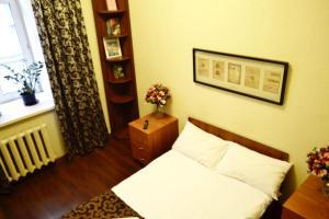 Кровать или кровати в номере Хостел Авиатор на Пушкинской