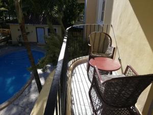 Balcon ou terrasse dans l'établissement Bavaretto Ocean Club