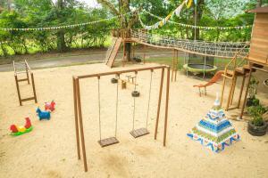 Children's play area at Handara Golf & Resort Bali
