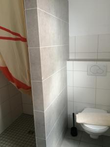 Ein Badezimmer in der Unterkunft Apartmenthaus Gärtner