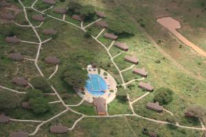 A bird's-eye view of Kilima Safari Camp