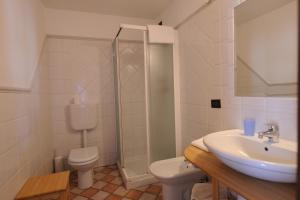 A bathroom at Agriturismo Gian Galeazzo Visconti