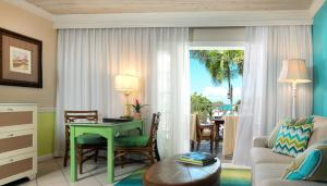 Dining area at the resort