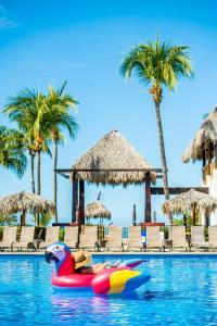 The swimming pool at or near Margaritaville Beach Resort Playa Flamingo