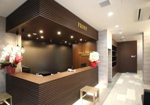 The lobby or reception area at Hotel Trend Kanazawa Ekimae