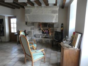 A seating area at La Riviere
