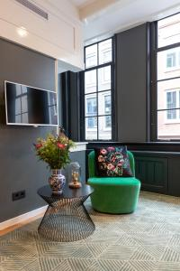 A seating area at The Blossom House Amsterdam