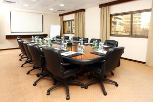The business area and/or conference room at Ramada Plaza by Wyndham Beirut Raouche