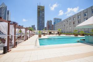 The swimming pool at or near Oasis Atlantico Fortaleza