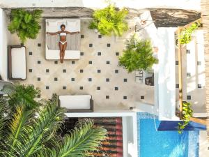 A view of the pool at Amarla Boutique Hotel Cartagena or nearby