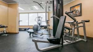 The fitness center and/or fitness facilities at Best Western Plus Silverdale Beach Hotel