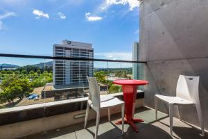 A balcony or terrace at Accommodate Canberra - New Acton