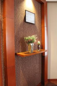 Um banheiro em Astoria Hotel