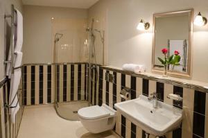 Vonios kambarys apgyvendinimo įstaigoje Ursula Royal Apartments