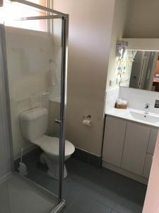 A bathroom at Moe Parklands Motel
