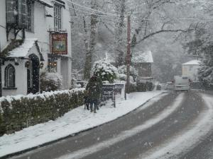 Glen Rothay during the winter