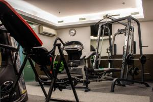 The fitness center and/or fitness facilities at Carat Boutique Hotel