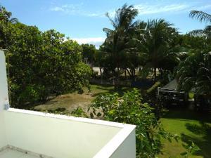 A balcony or terrace at Casa Frente Praia Porto Seguro