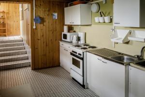 Küche/Küchenzeile in der Unterkunft Ósar Hostel
