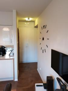 A kitchen or kitchenette at Lux Apartment Art
