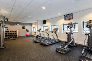 The fitness centre and/or fitness facilities at Hampton By Hilton Amsterdam Arena Boulevard