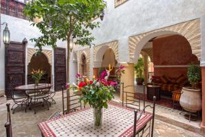 BBQ facilities available to guests at the riad