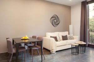 Zona de estar de EasySleep Gaudi Terrace