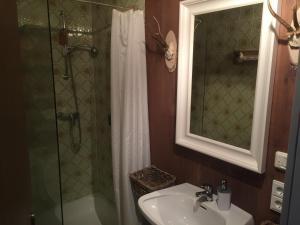 Ein Badezimmer in der Unterkunft Der Gamsjäger