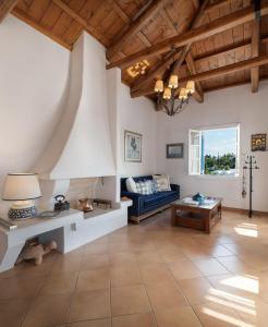 A seating area at Porto Vecchio Luxury Suites