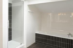 A bathroom at Maison Laia