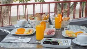 As opções de pequeno-almoço disponíveis para os hóspedes de Hotel Império do Norte