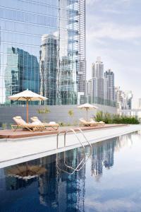 The swimming pool at or near The Oberoi Dubai