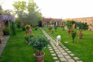Jardín al aire libre en Villa Vignacce